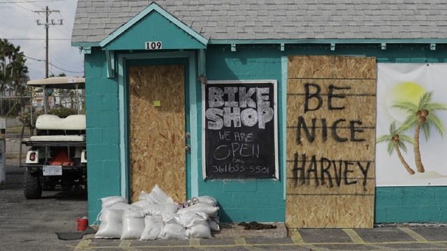 Photos show damage in Rockport from Hurricane Harvey