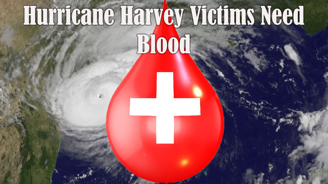 Give blood to bolster supply after Hurricane Harvey