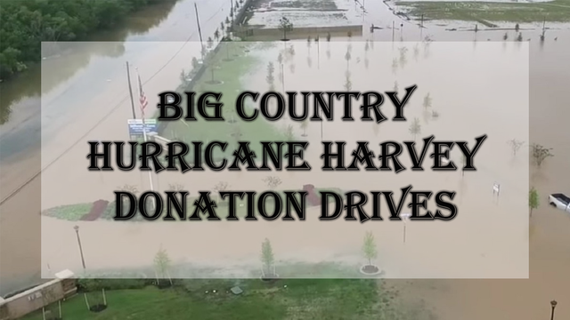 How the Big Country can donate to Hurricane Harvey victims