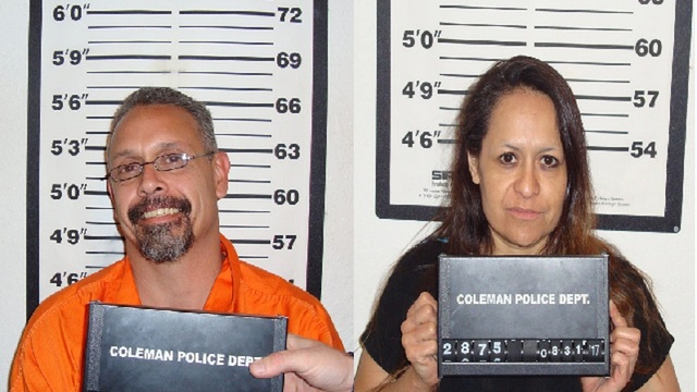 Two arrested during one of the largest meth busts in Coleman County history