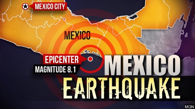 Death toll rises in aftermath of powerful earthquake in Mexico