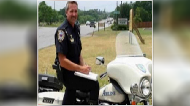 Off-road obstacle course and run honors fallen Abilene motorcycle officer