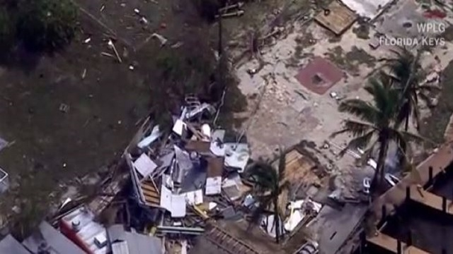 Irma destroyed about 25% of houses in Florida Keys, FEMA says