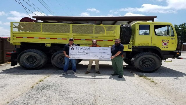 Eula VFD converts military truck into firefighting machine