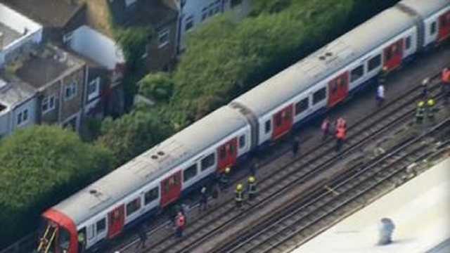 London Underground explosion at Parsons Green tube station a