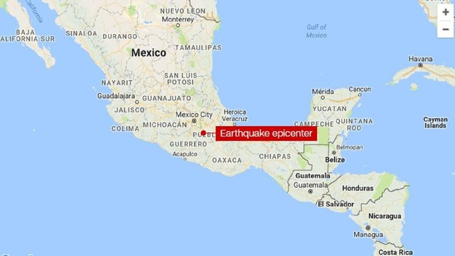 At least 42 dead in Mexico earthquake