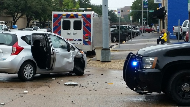 Abilene wrong way wreck sends 3 to the hospital