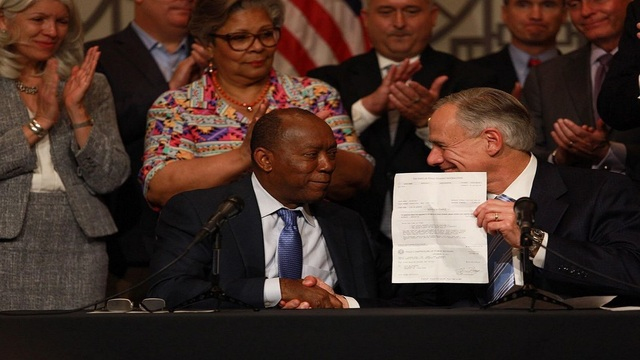 Houston Mayor calls off property tax hike after Abbott delivers $50 million
