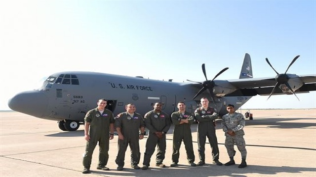 317th Airlift Wing of Dyess Air Force Base vital to Hurricane Irma relief efforts