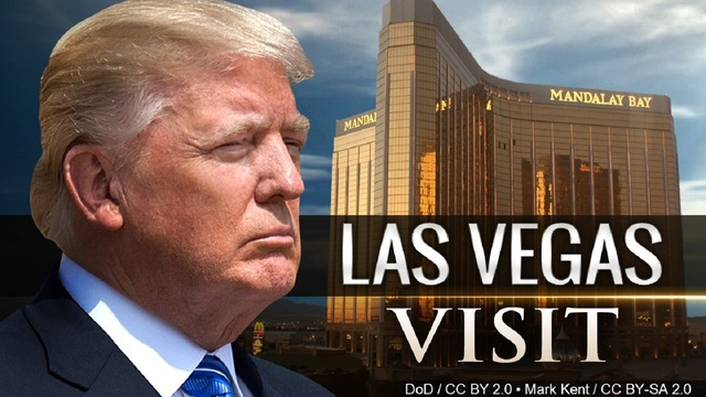 Trump to Las Vegas victims: 'Believe me, I'll be there' for you