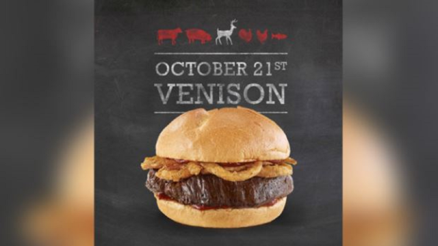 Deer meat sandwiches return to Arby's locations nationwide