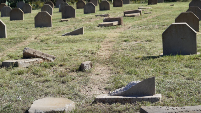 Dozens of headstones destroyed at Abilene cemetery, police searching for suspects