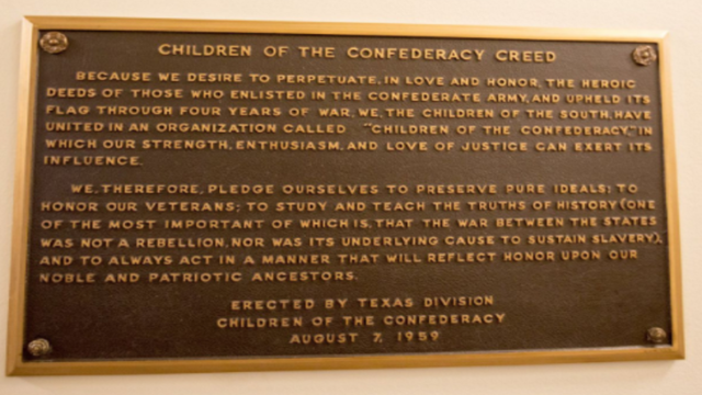 Conflicting accounts follow meeting with governor over Confederate plaque