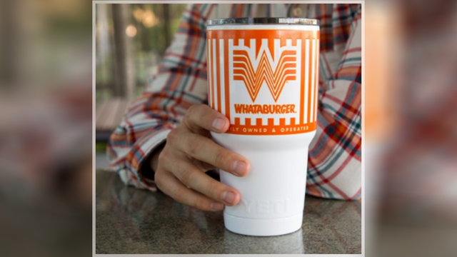 Whataburger and YETI partner up in time for holiday gift shopping