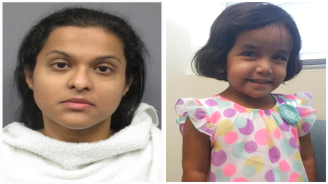 Sherin Mathews' mother arrested for child abandonment