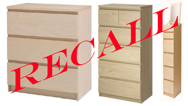 Ikea issues chest and dresser recalls after 8th child death reported