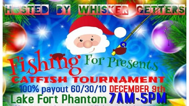 Whisker Getters to host 'Fishing for Presents' tournament