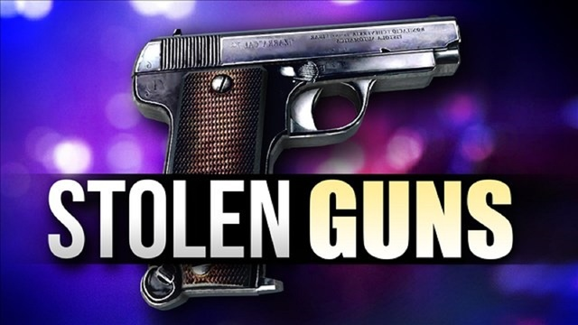 7 firearms, other items reported stolen from south Abilene home