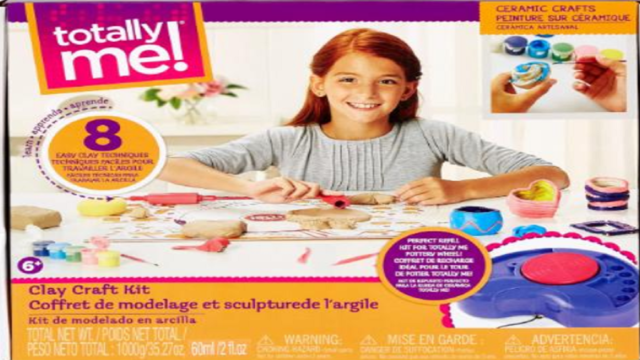 Toys 'R' Us recalling 6,000 clay craft kits over mold risk