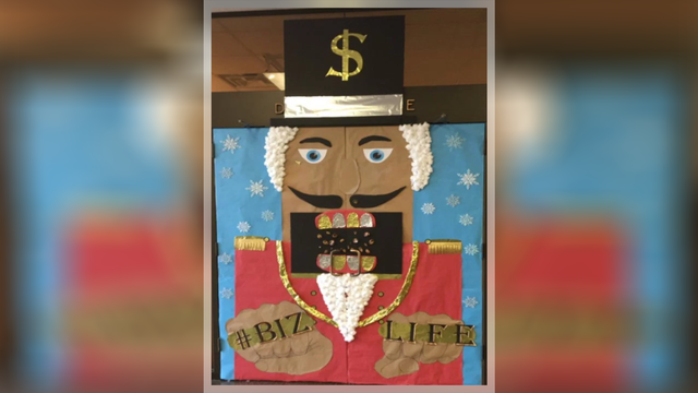 University of Texas school of business removes 'racially offensive' holiday decoration
