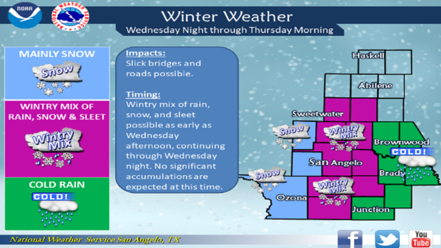 A Winter Storm Will Impact The Area Monday