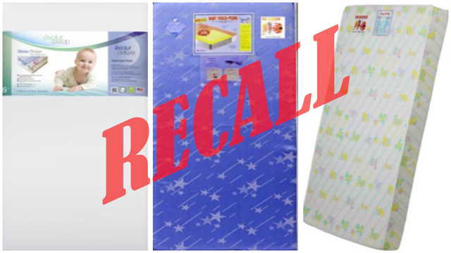 Crib & toddler mattresses recalled due to fire hazard