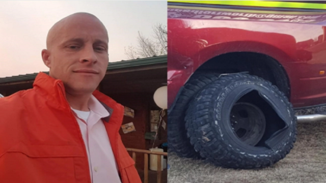 North Texas man killed when tire he's inflating explodes
