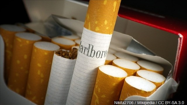 Phillip Morris Says Its New Year's Resolution is to Give Up Cigarettes