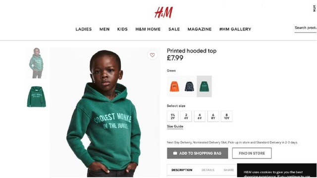 Eazy Ends Partnership With H&M Due to Offensive Ad
