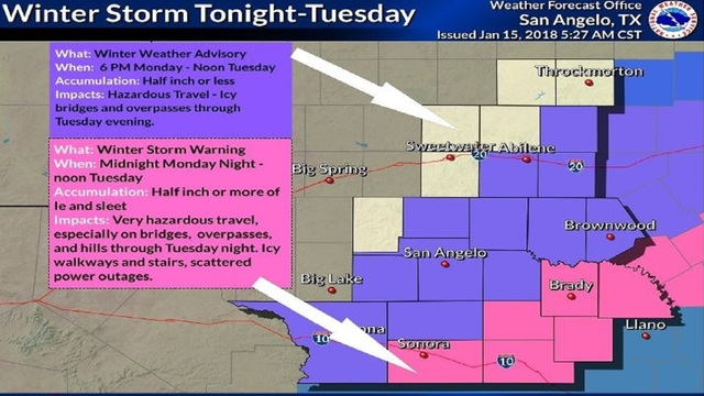 TRACKING: Flood Watch, Winter Weather Advisory issued for region