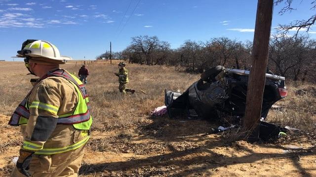Sleeping driver uninjured after rollover wreck in Cisco