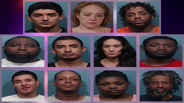 More than 623 grams of narcotics seized in Abilene over past 2 weeks, 41 suspects arrested