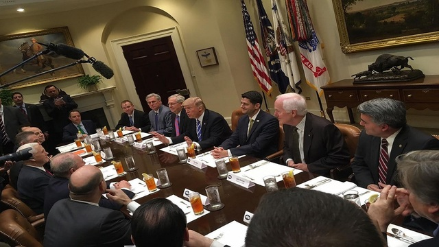 At gun control meeting with Trump, Cornyn pushes for action on background checks