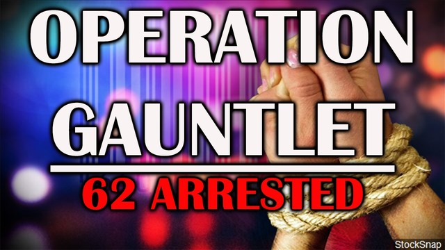 Abilene police assist in child sex crime, human trafficking sting operations that netted 62 arrests