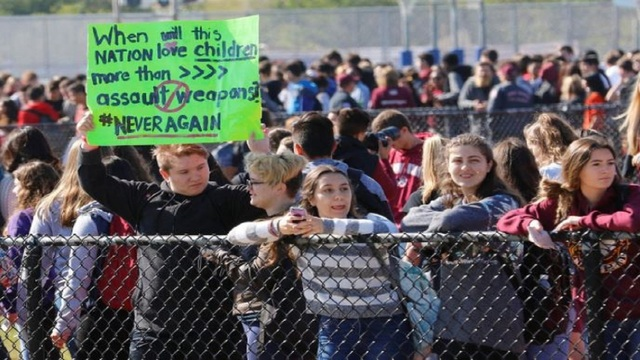Spring break dampens Texas participation in student walkouts protesting gun violence