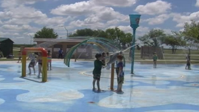 City of Abilene Splash Pads to Officially Open for 2017