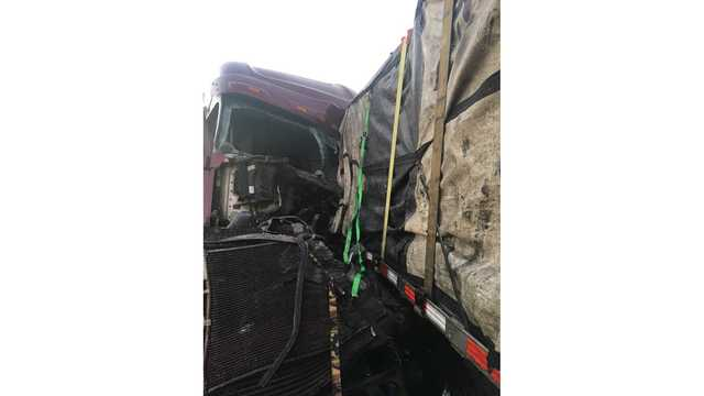 Truck drivers help extinguish fiery crash in Sweetwater, victim pinned for nearly 3 hours