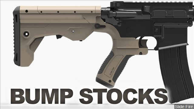 States, cities shame Congress by banning rapid-fire 'bump stocks'