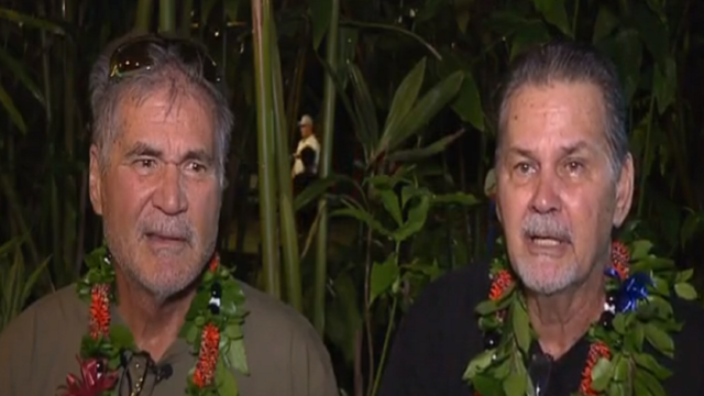 Friends for 60 years find out they're biological brothers