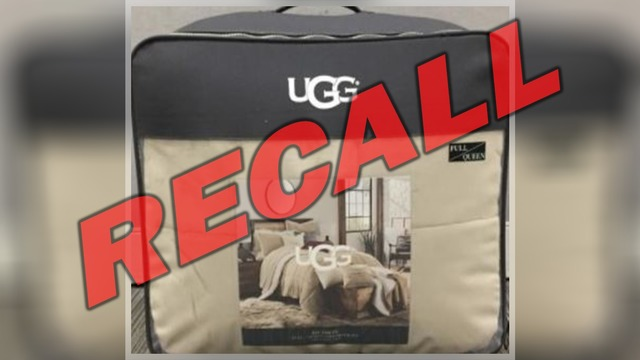 UGG comforters recalled due to mold