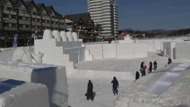 South Korea ice sculpting 3
