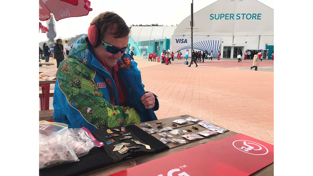 Pin Trading: The unofficial sport of the Olympics