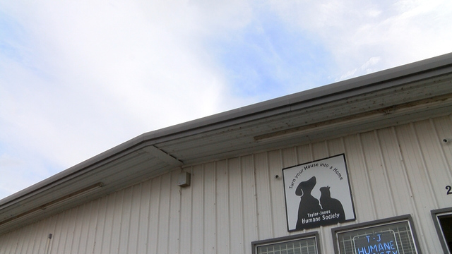 Taylor-Jones Humane Society in dire need of a new roof