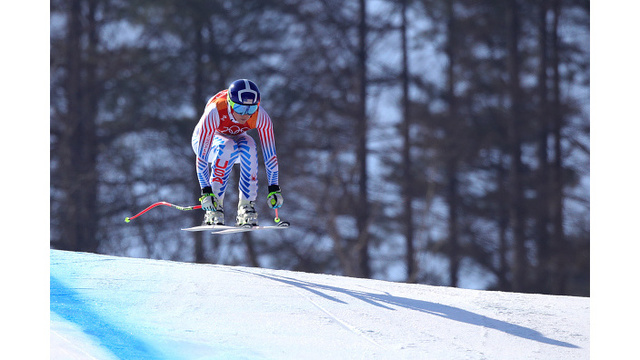 PHOTOS: Lindsey Vonn and Mikaela Shiffrin in race for combined medal
