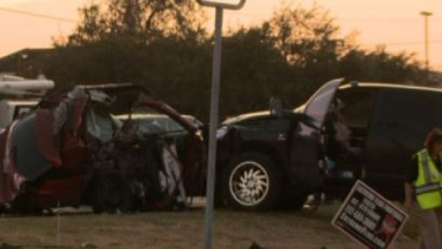 Parents of 2 children killed in Texas crash sue Abilene man, another driver for $15 million