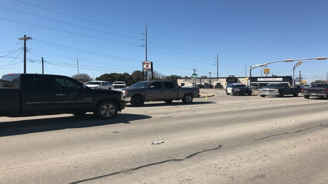 Pedestrian in critical condition after getting struck by truck in central Abilene