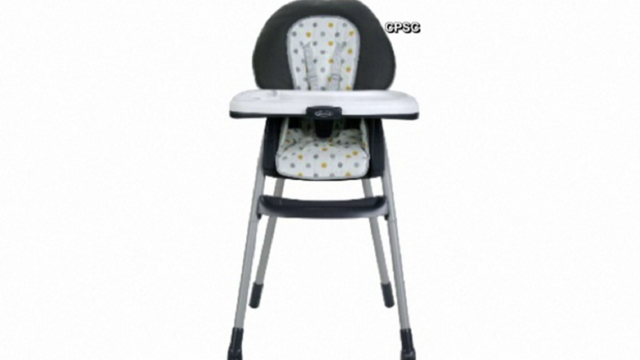 Graco recalls thousands of highchairs sold at Walmart