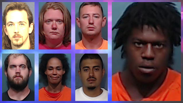 Cash rewards offered for info on 7 of Abilene's 'Most Wanted Criminals'