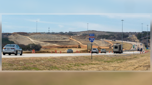 Ranger Hill construction causes delays on I-20