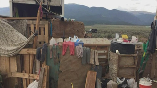 11 children found in 'makeshift compound' in New Mexico